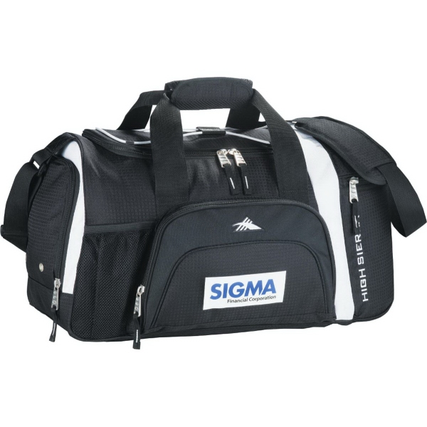 "Imprinted High Sierra (R) 22"" Garrett Sport Duffel Bag"