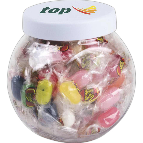 Customized Mini candy jar with Jelly Belly