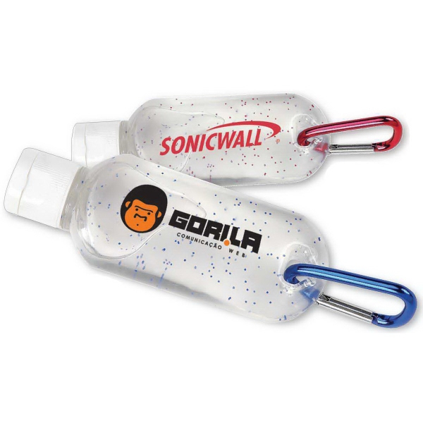 Personalized Sanitizer with carabiner