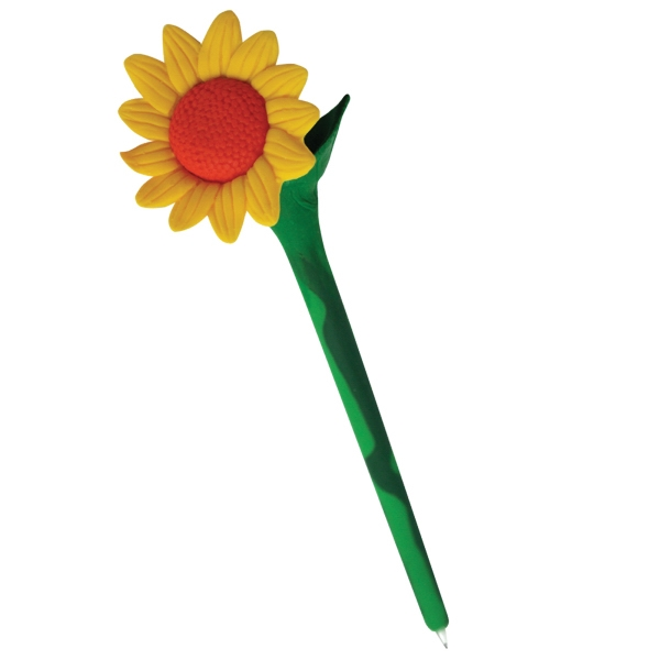 Personalized Sunflower Flower Pen