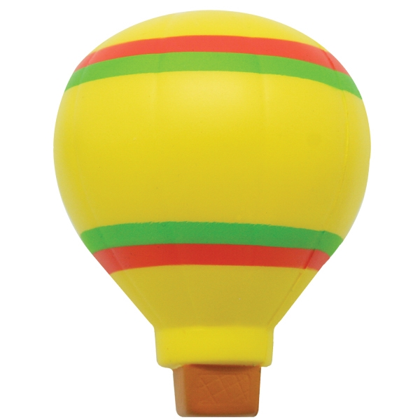 Personalized Squeezies (R) hot air balloon stress reliever
