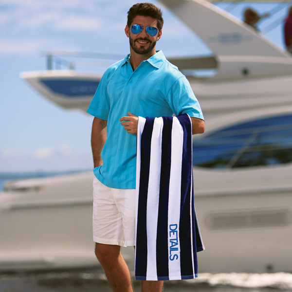 Custom Cabana Beach Towel