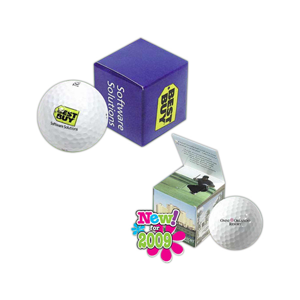 Imprinted Promotional Golf Packaging
