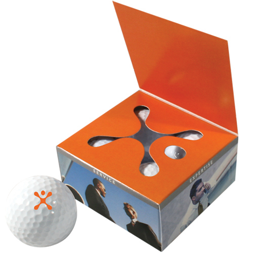 Printed Four Ball Book Style Golf Box