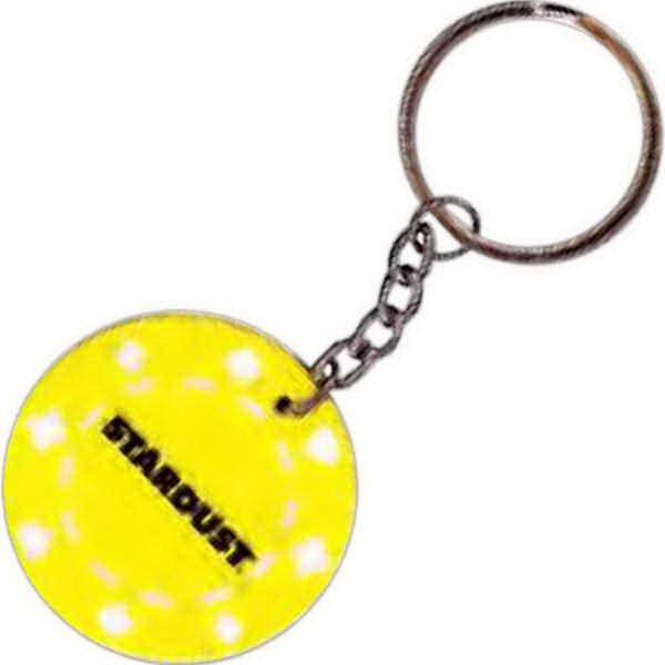Imprinted Poker chip keychain - Closeout item!