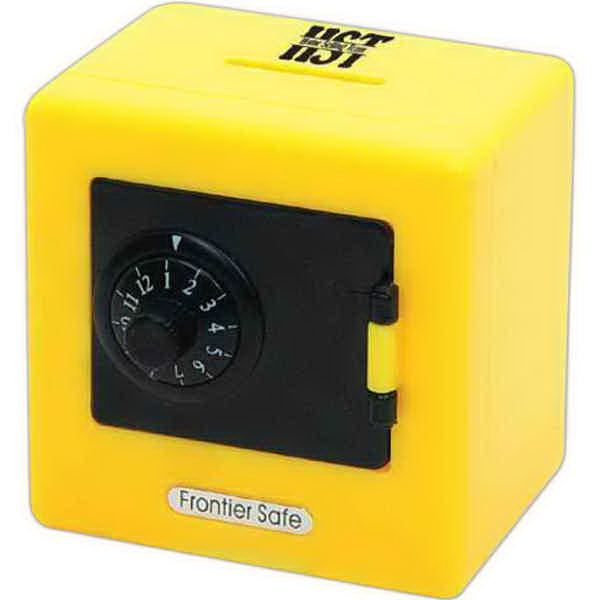 Promotional Combination Safe Bank - closeout item!