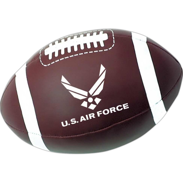 Imprinted Plush football