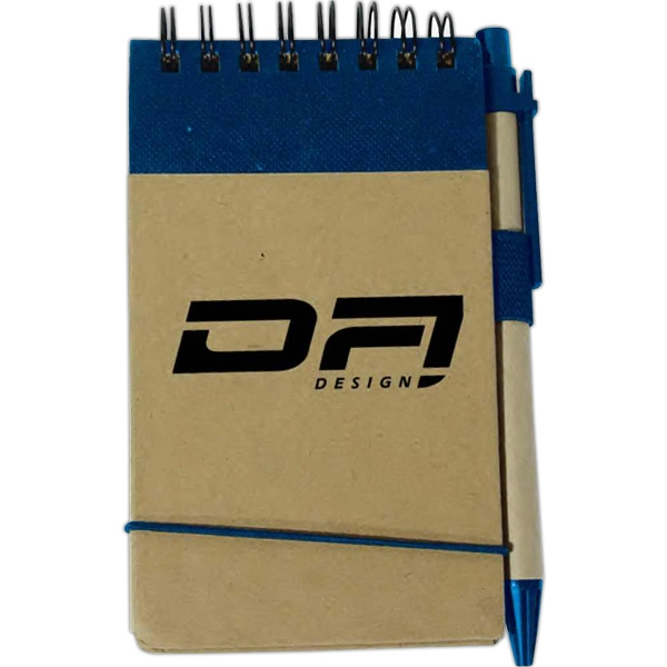 Promotional Recycled memo pad with pen