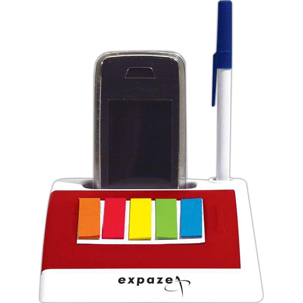 Customized Cell phone holder with notepad and sticky flags