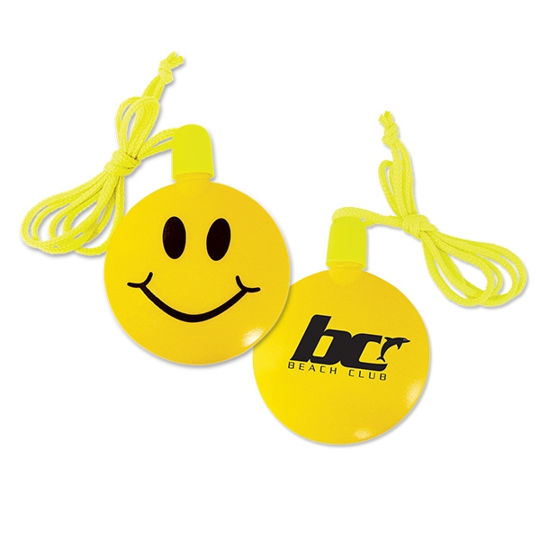 Customized Smile Face Bubble Necklace