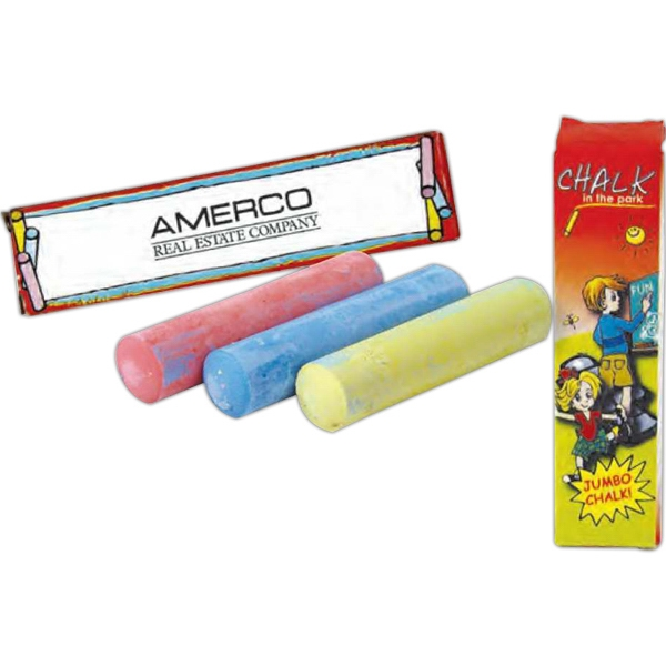 Custom 1 pack jumbo chalk