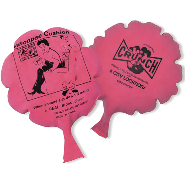 Customized Whoopie cushion