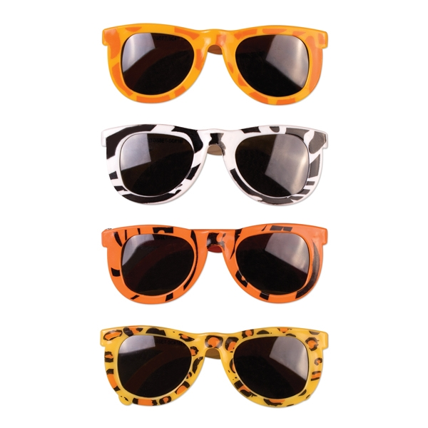 Personalized Children's animal print glasses