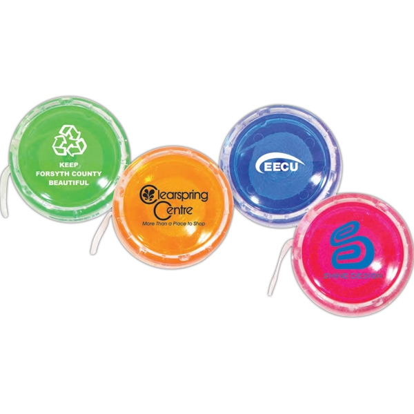 Imprinted Translucent Champion Yo-Yo