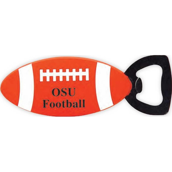 Customized Football shaped bottle opener