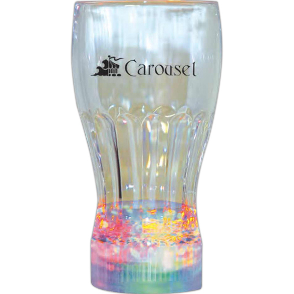 Promotional Light up drinking glass