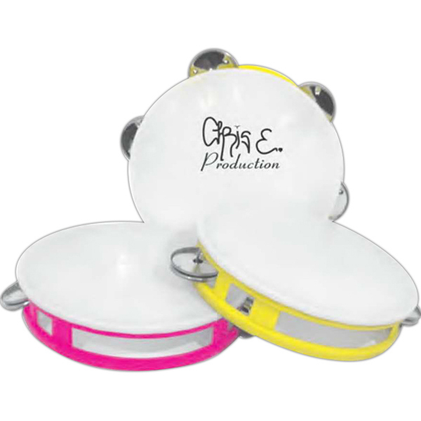 Customized Tambourine with assorted colors