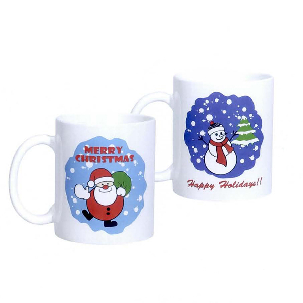 Promotional 11 oz. C-Handle Mug with Decal
