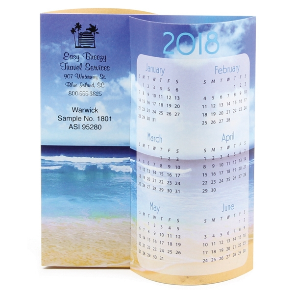 Customized Beach Wave Calendar