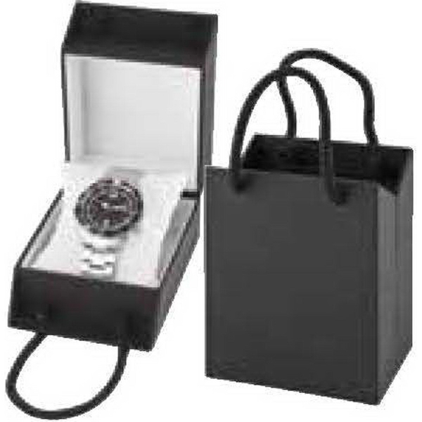 Personalized Black Watch Gift Box