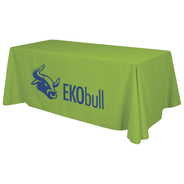 Imprinted Economy Table Throw