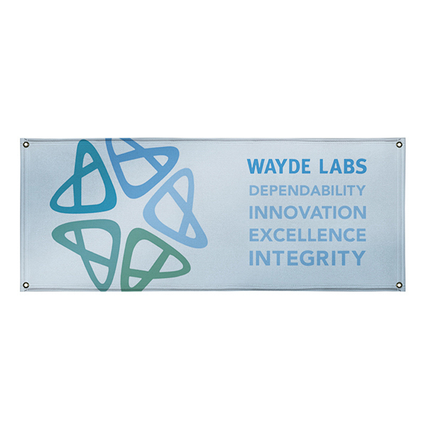Imprinted 10 oz. Smooth Vinyl Interior Banner