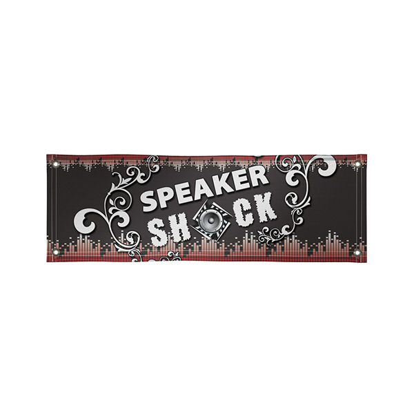 Personalized Poly-Poplin Interior Banner