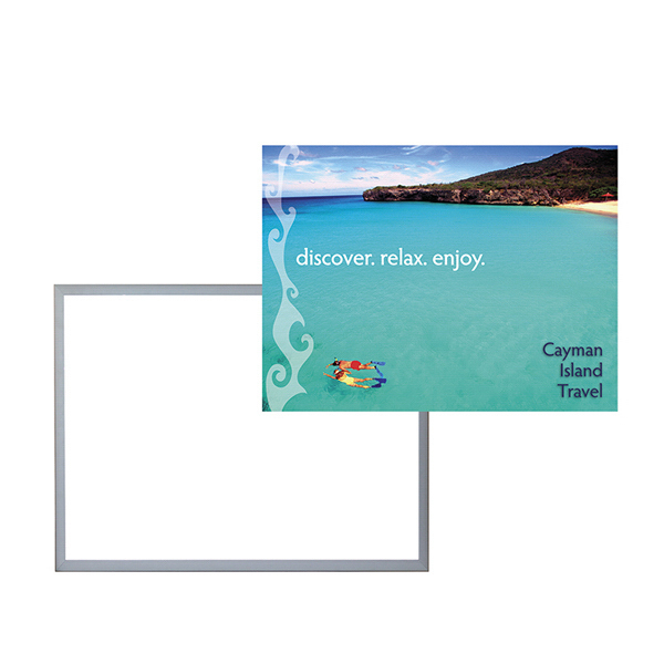 Promotional 18-inch x 24-inch LED Light Box Graphic Only