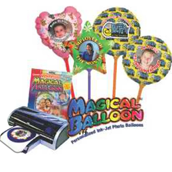 Imprinted Heart Magical Balloon 3 Packs