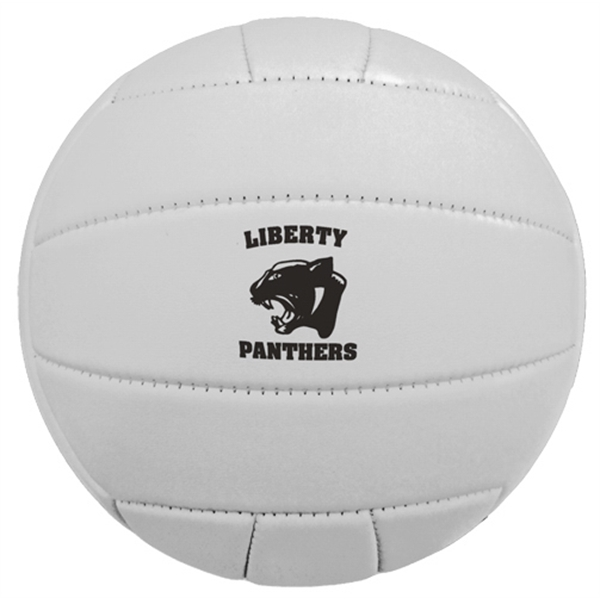 Printed Mini Synthetic Leather Volleyball