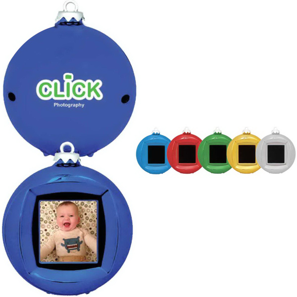 Personalized Digital Picture Ornament