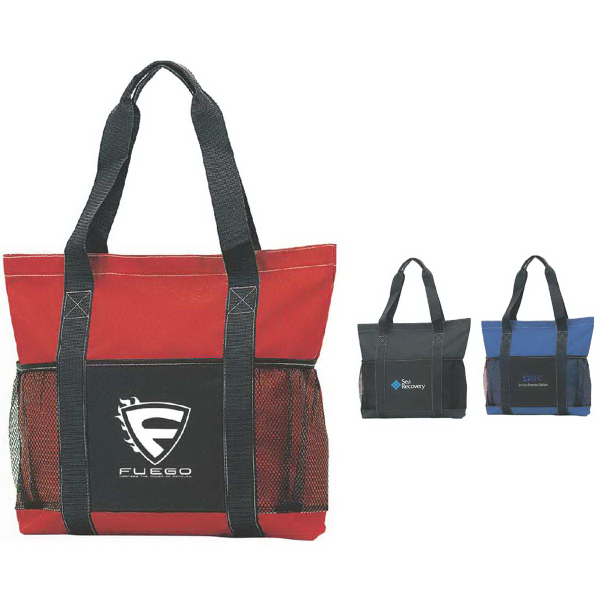 Customized Stay-Flat Tote