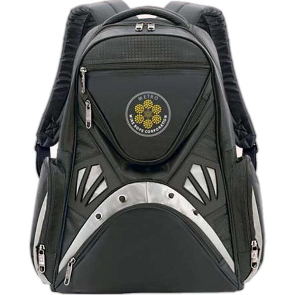 "Custom Kaleidoscoper 15.4"" Computer Backpack"