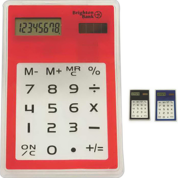 Custom Touch Screen Solar Calculator