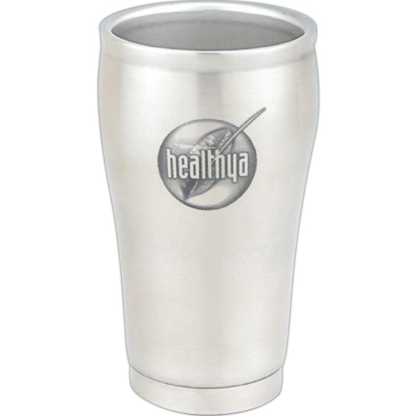 Personalized Contour 8 oz. Double-Walled Stainless Steel Cup