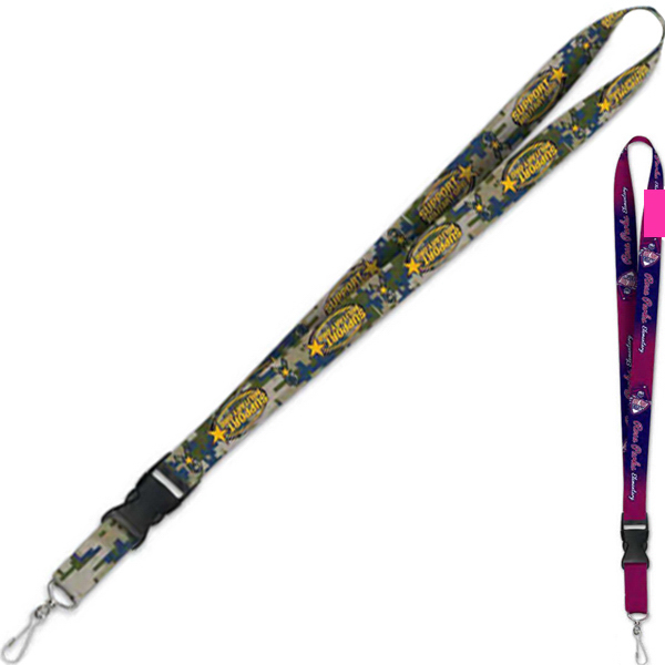 Promotional Lanyard with Detachable Buckle