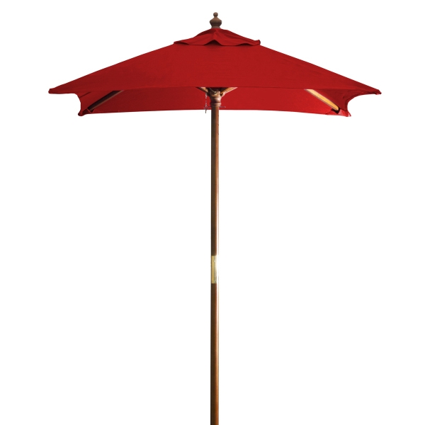 Custom 7 Foot Square Market Umbrella