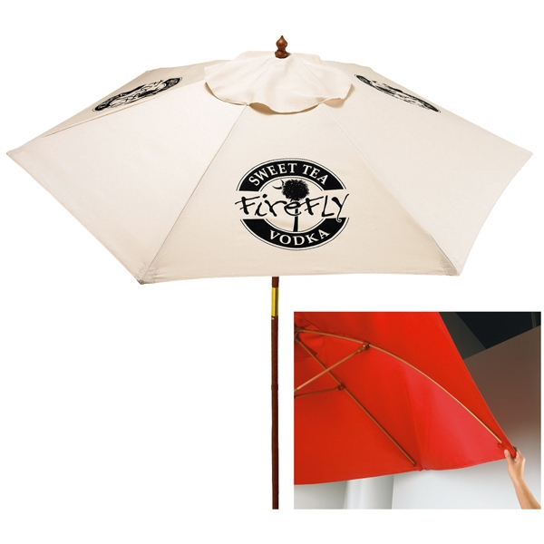 Imprinted In Stock 7 Foot Market Umbrella