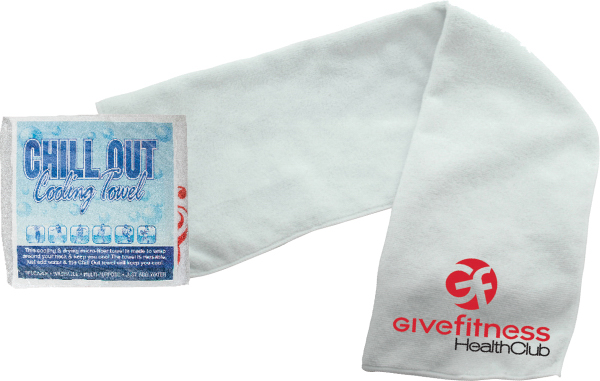 Custom Chill Out Towel