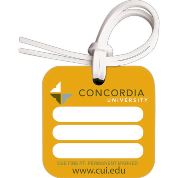 Customized Bag & Luggage Tag - Square - Full Color