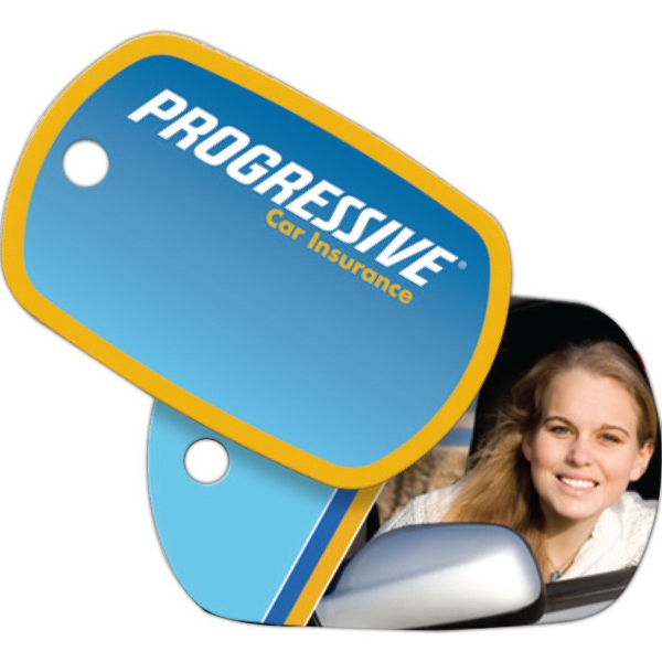 Promotional Key Tag - Laminated Plastic - Standard Oval