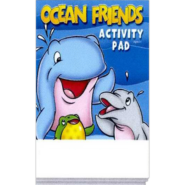 Printed Ocean Friends Activity Pad Fun Pack