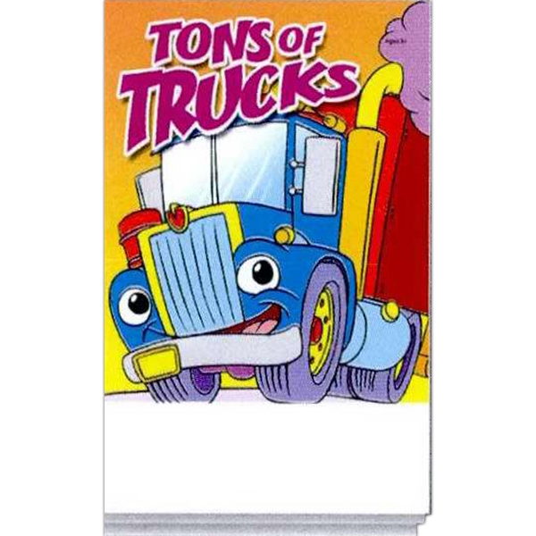 Custom Tons Of Trucks Activity Pad Fun Pack