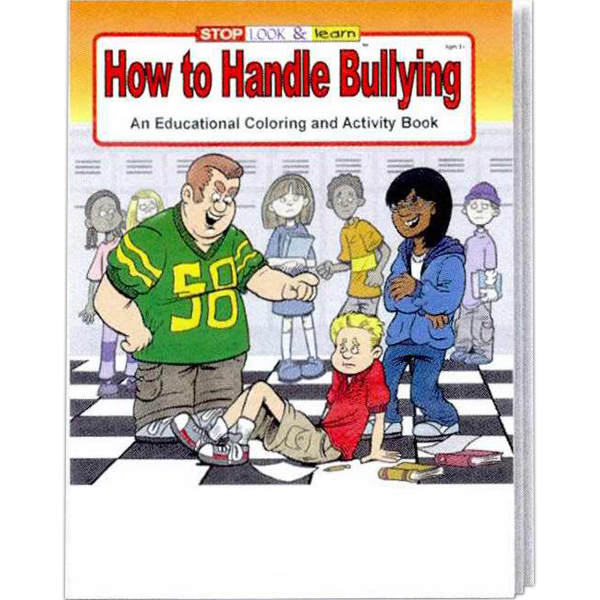 Customized How to Handle Bullying Coloring and Activity Book Fun Pack