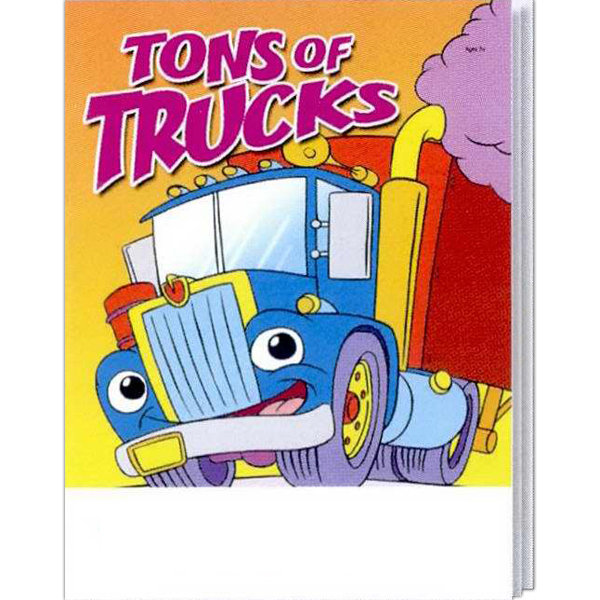 Promotional Tons of Trucks Coloring and Activity Book Fun Pack
