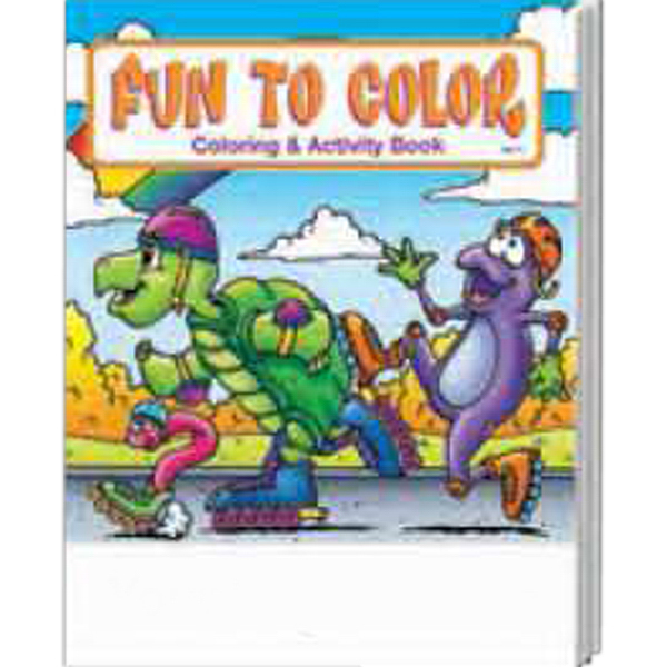 Customized Fun to Color Coloring and Activity Book Fun Pack