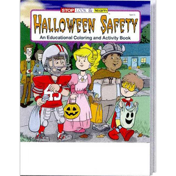 Printed Coloring Book - Halloween Safety Fun Pack