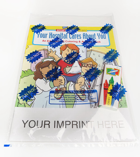 Printed Coloring and Activity Book Fun Pack