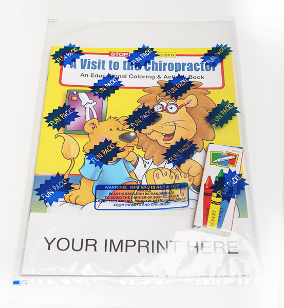 Imprinted Coloring and Activity Book Fun Pack