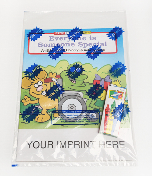 Promotional Coloring and Activity Book Fun Pack